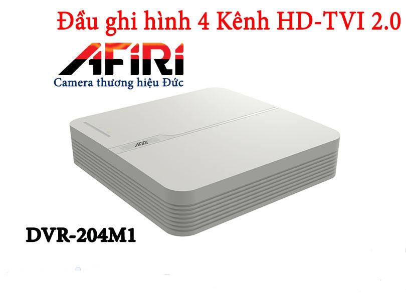 Đầu ghi hình 4 kênh HD-TVI AFIRI